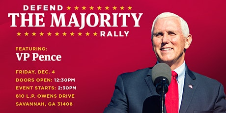 Defend The Majority Rally Featuring Vice President Mike Pence tickets