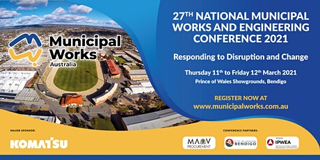 27th National Municipal Works and Engineering Conference tickets