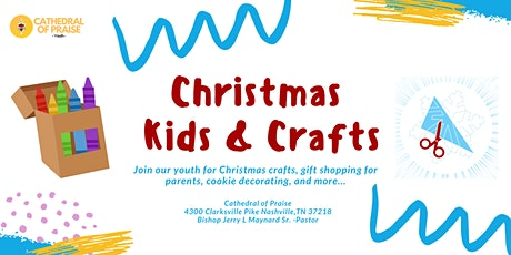 The Youth & Young Adult Department (YAYA) presents-Christmas, Kids & Crafts tickets