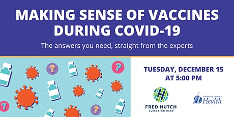 Making Sense of Vaccines During COVID-19 tickets