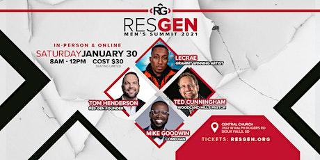 RESGEN Men's Summit 2021 LIVESTREAM (1 ticket needed per viewing audience) tickets