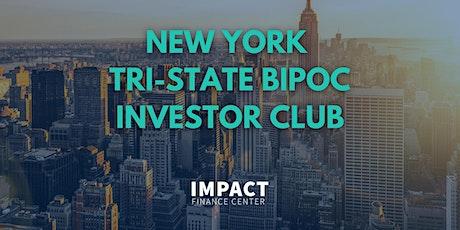 New York Tri-State BIPOC Investor Club Webinar tickets
