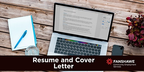 Resumes & Cover Letters Workshop (Virtual) tickets