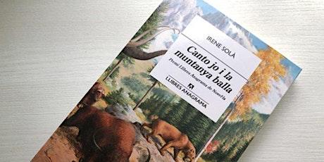 """Club de lectura """"Canto jo i la muntanya balla"""", amb la presència de l'aut entradas"""