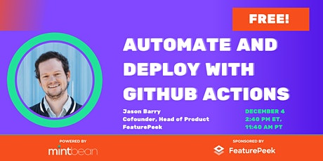 Automate and Deploy with GitHub Actions tickets