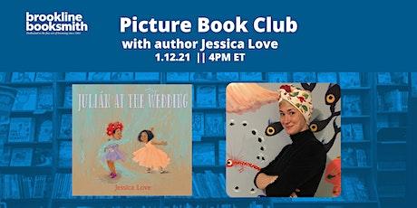 Brookline Booksmith Picture Book Club: Jessica Love tickets