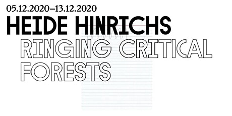 ringing critical forests - Heide Hinrichs in KIOSK, Gent tickets