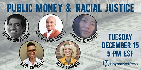 Public Money and Racial Justice tickets