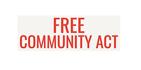 Free Community ACT tickets