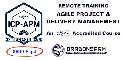 ICAgile Project and Delivery Management Remote 2-Day Training ICP-APM