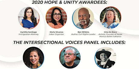 12th Annual Hope & Unity Awards (Virtual Gala) tickets
