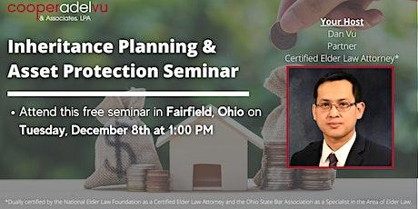 Inheritance Planning & Asset Protection Seminar with Attorney Dan Vu tickets