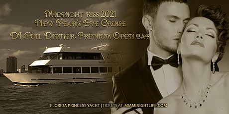 Midnight Kiss Hollywood Beach Dinner Cruise New Year's Eve Party 2021 tickets
