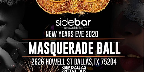 NYE at SideBar in UpTown Dallas tickets