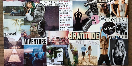 Vision Board Self-Care/Self-Love Virtual Workshop tickets
