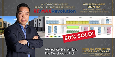 Westside Villas, The Developer's Pick & Networking Event tickets