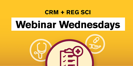 Webinar Wednesday: Presentations by Clinical Research Capstone Students tickets