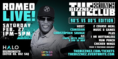The Bizznez Brunch Club, 90s vs 00s Edition | Saturday Feb 27 tickets