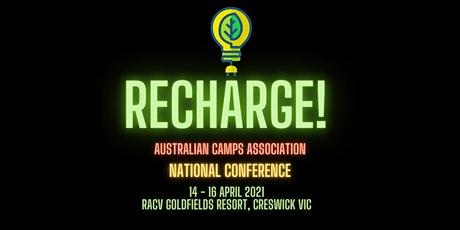 ACA National Conference 2021 - 'Recharge' tickets