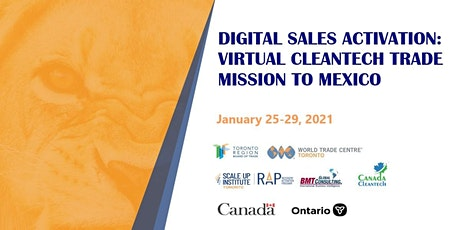Virtual Cleantech Mission to Mexico tickets