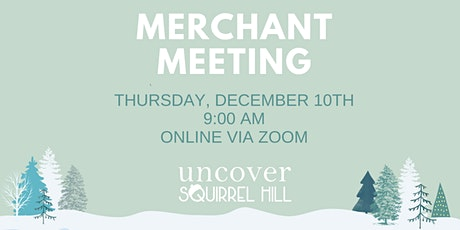 December 2020 Online USH Merchant Meeting tickets