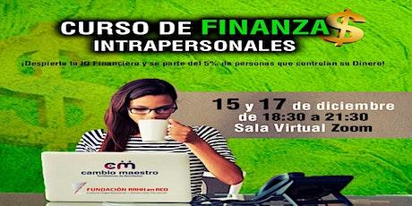 CURSO FINANZAS INTRAPERSONALES tickets