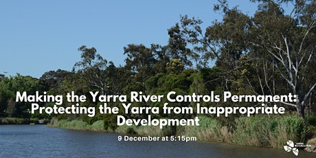 Making the Yarra River Controls Permanent tickets