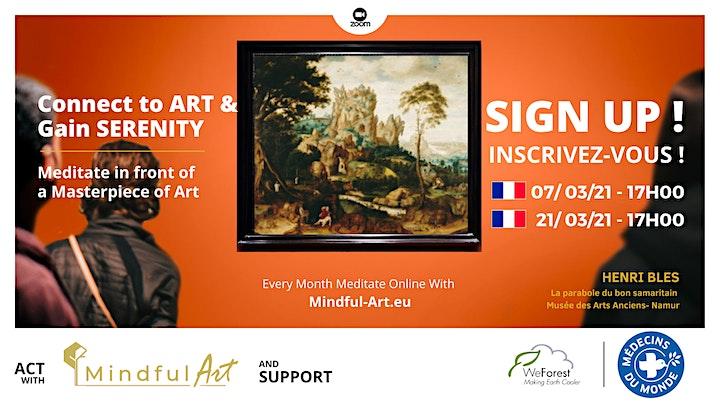 Image pour Mindful Art (online): Se Relier à l'Art • Henri Bles• Marjan Abadie (Fr)