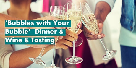 Bubbles with Your Bubble Dinner & Virtual Wine Tutorial tickets