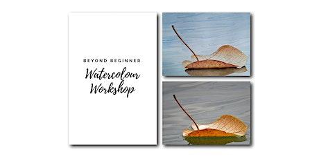 Leaf and Ripple - Beyond Beginner Watercolour Workshop [ONLINE] tickets