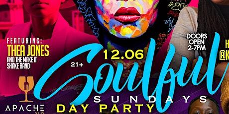 Soulful Sunday tickets