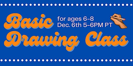 Free Basic Drawing Class tickets