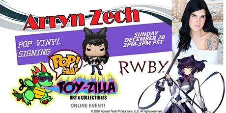 POP SWAP SIGNING #11 TOY-ZILLA with ARRYN ZECH tickets
