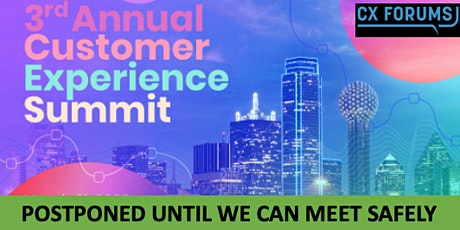 CX Forums Dallas Executive Summit tickets