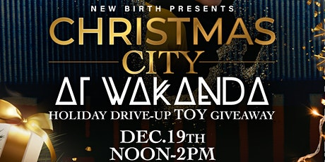 2020 New Birth Christmas  City Toy Giveaway tickets