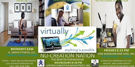 Newtrition Mission hosted by NUcreation Nation billets