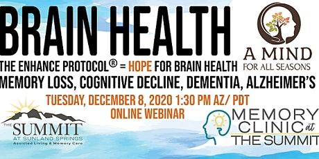 The Enhance Protocol= HOPE for Brain Health tickets