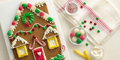 Kids Gingerbread House Decorating Class with Dirty Girl Donuts owner Marisa tickets