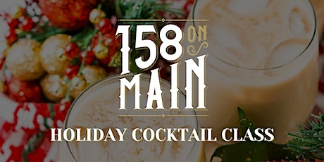 Holiday Cocktail Class and Gingerbread House Competition tickets