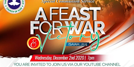 December Holy Communion Service tickets