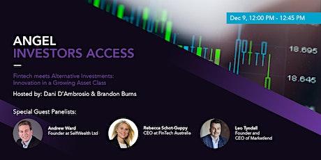 Fintech meets Alternative Investments: Innovation in a Growing Asset Class tickets