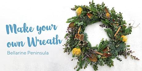 Christmas Wreath Making Workshop on the Bellarine Peninsula tickets