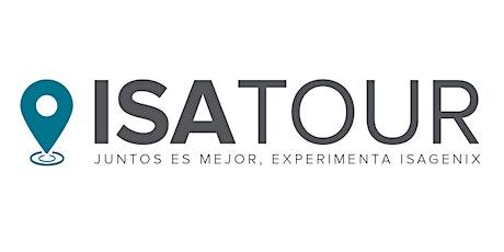 """IsaTour Aguascalientes """"Conociendo Isagenix"""" entradas"""