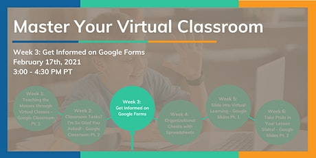 Get Informed on Google Forms*! tickets