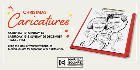 Christmas Caricatures 2020 tickets
