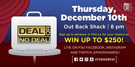 Deal or No Deal (for playing in person) tickets