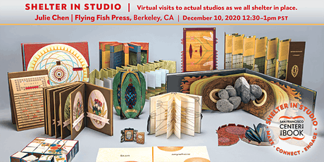 SFCB Shelter in Studio tour :: Julie Chen / Flying Fish Press tickets