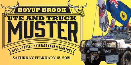 2021 Boyup Brook Ute & Truck Muster tickets