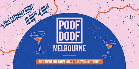 POOF Doof Melbourne (5.12.20) tickets