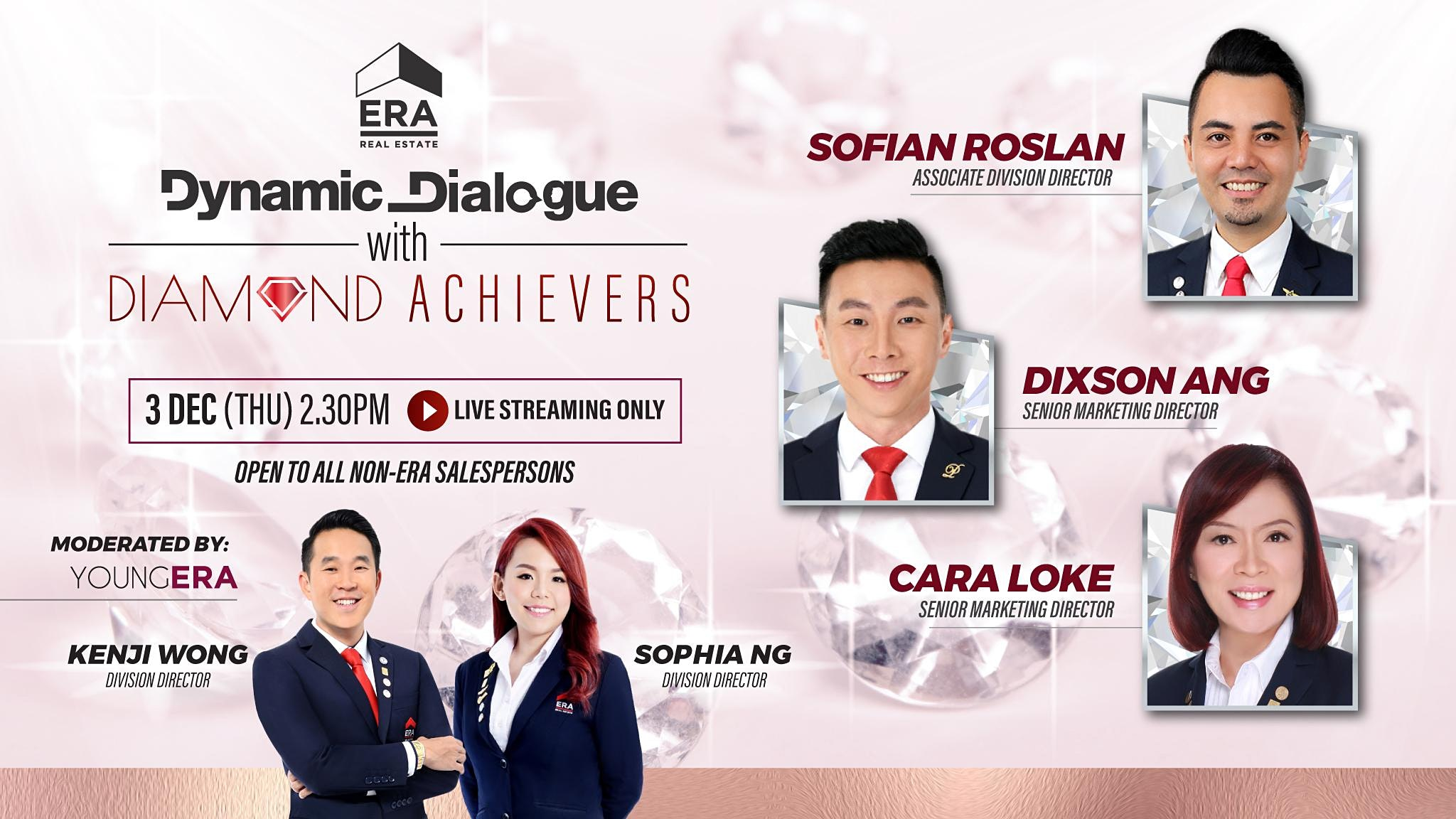 Dynamic Dialogue with Diamond Achievers